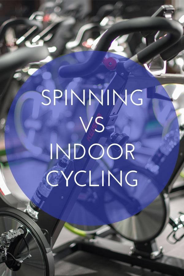 Spinning vs Indoor Cycling