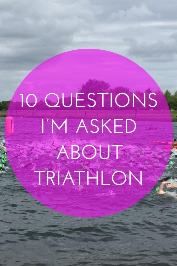 Questions about triathlon