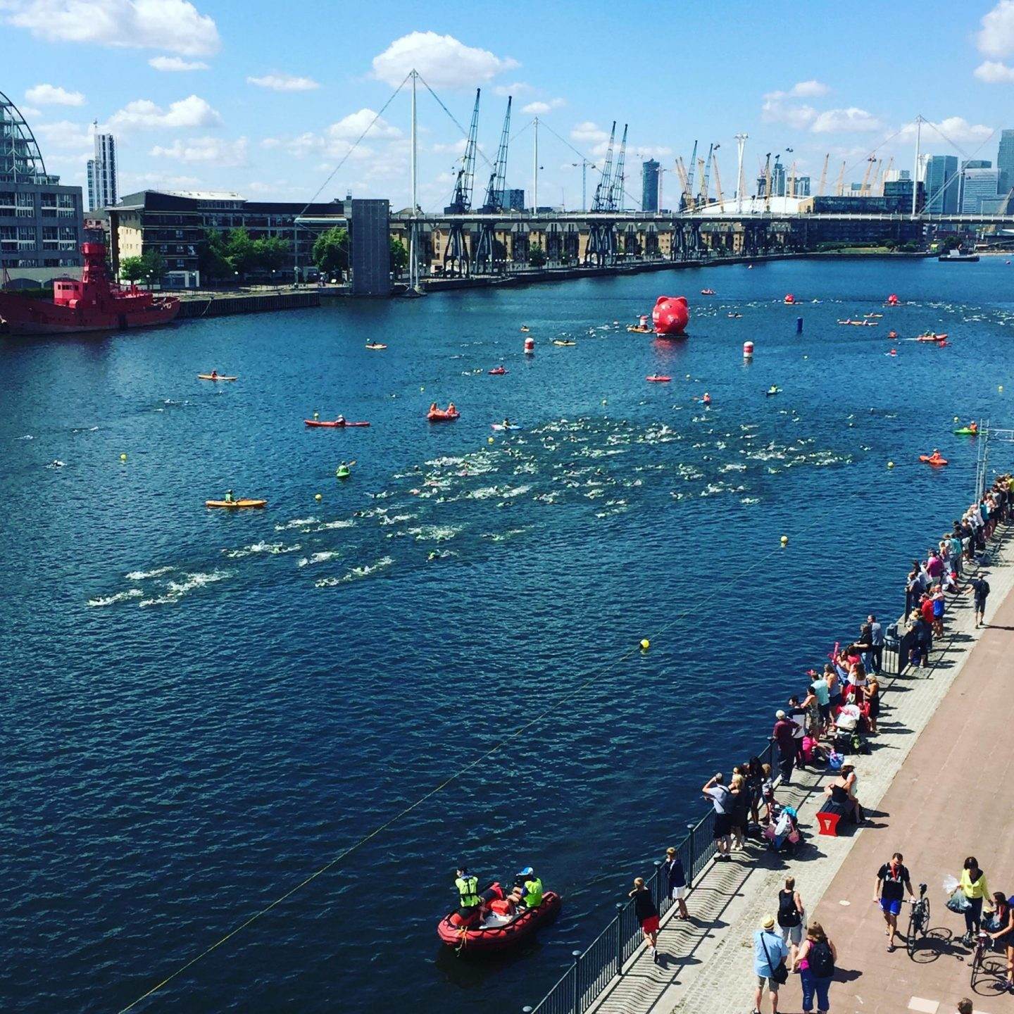 Royal Docks Swimming