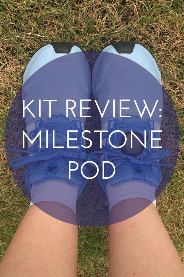 Improve your running cadence and form with the MilestonePod