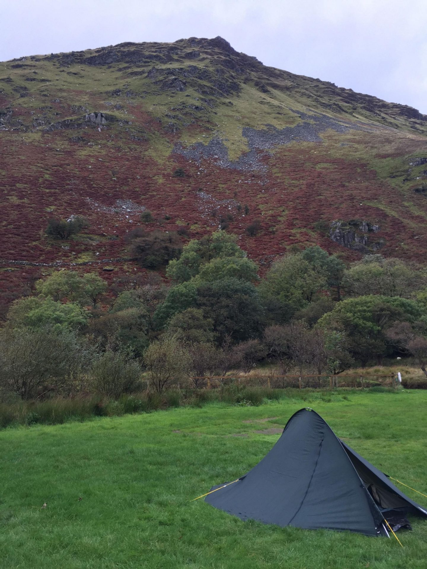 Camping in Snowdon