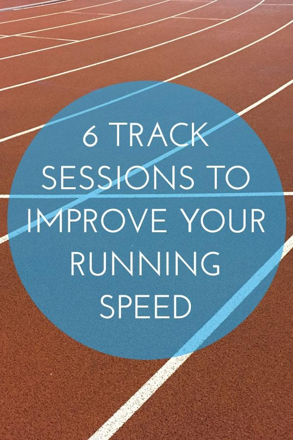 Improve your running speed and endurance with these track sessions, including pyramid and interval workouts.