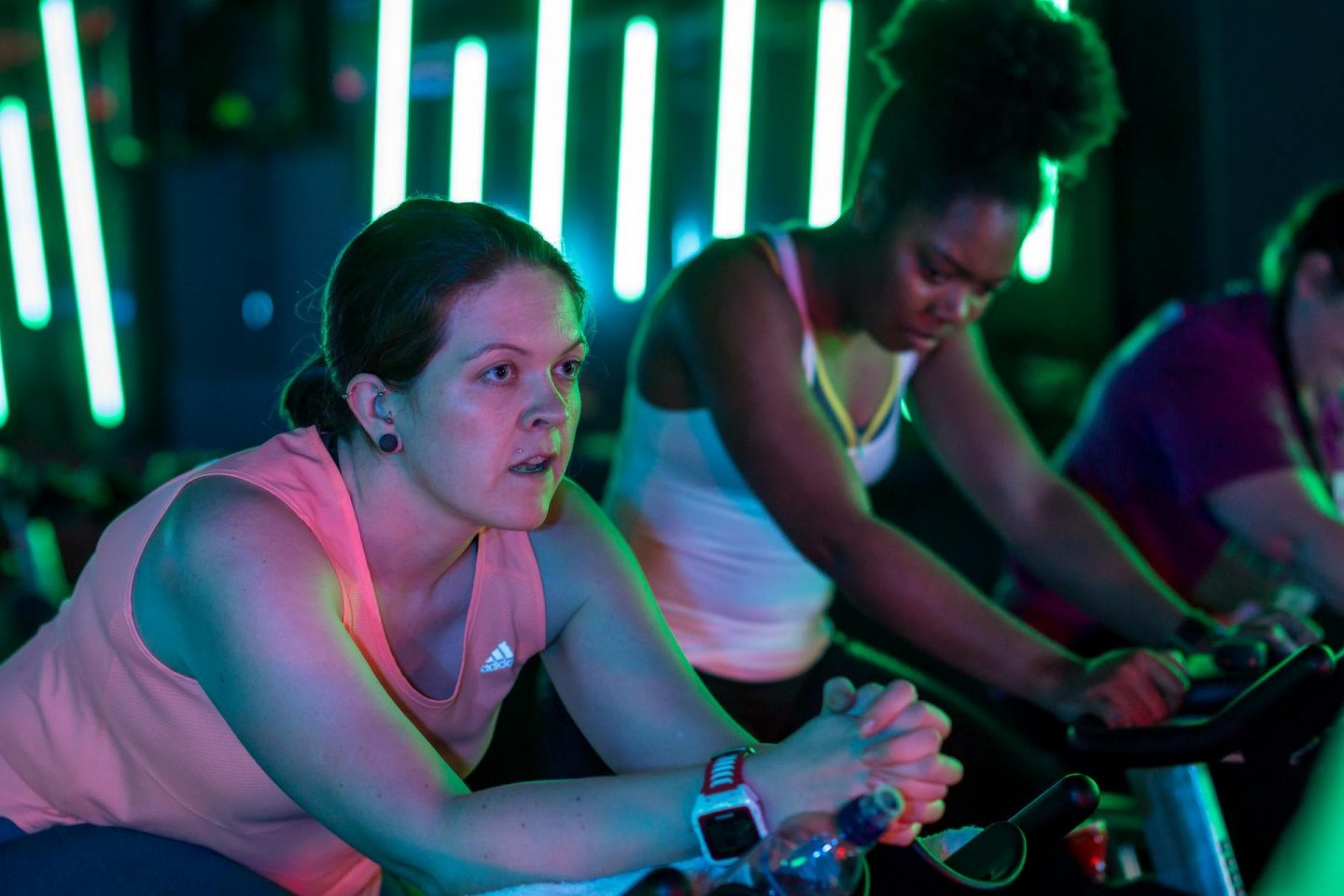 What makes a great spin class? An energetic, motivated instructor with an awesome playlist and high-spec bikes