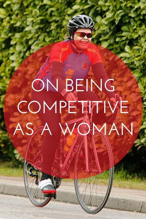 As women we often apologise for being competitive. It's considered unfeminine. Here's why we should celebrate and embrace our competitive edge.