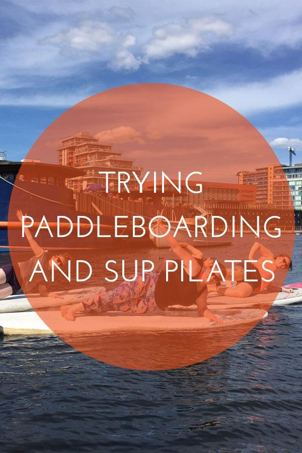 Paddleboarding SUP Pilates