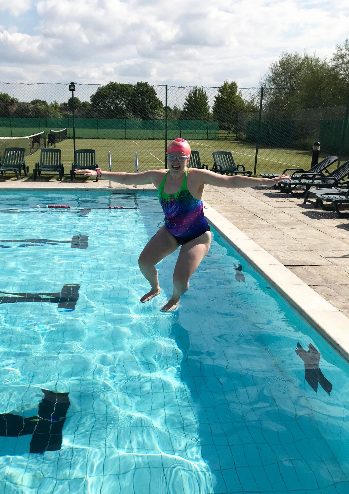 Body confident in swimwear