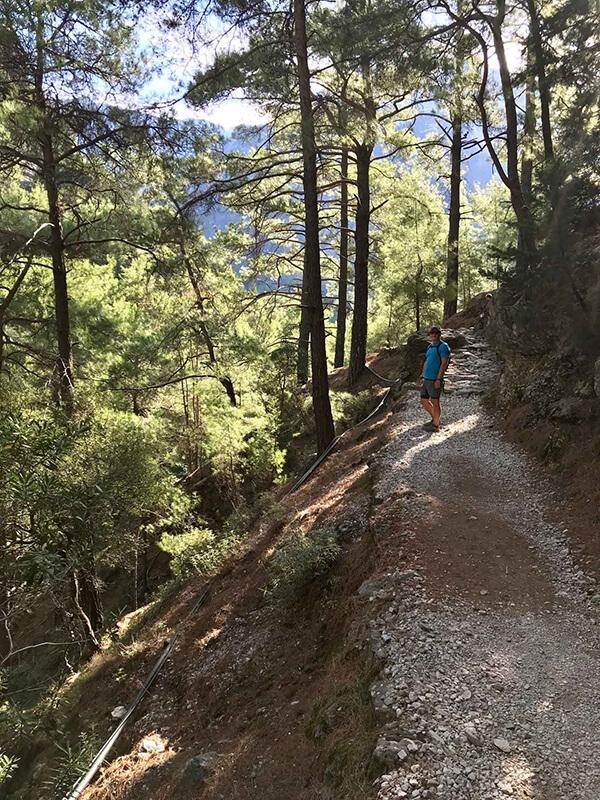 Hiking the Samaria Gorge